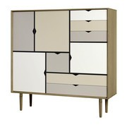 Andersen Furniture - S3 Highboard Fronten bunt
