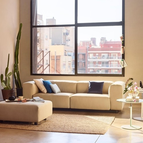 Vitra - Soft Modular 2-Sitzer Sofa