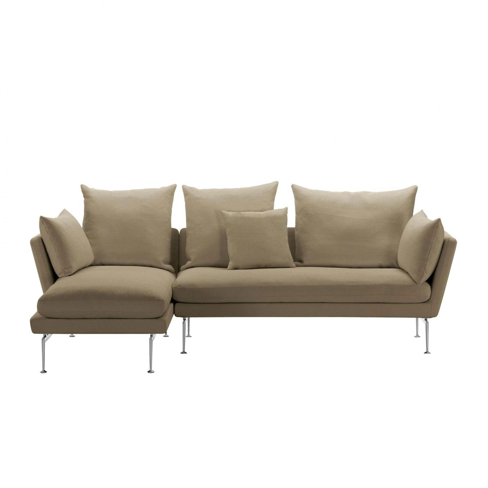 Vitra Suita Citterio Sofa with Chaise Longue