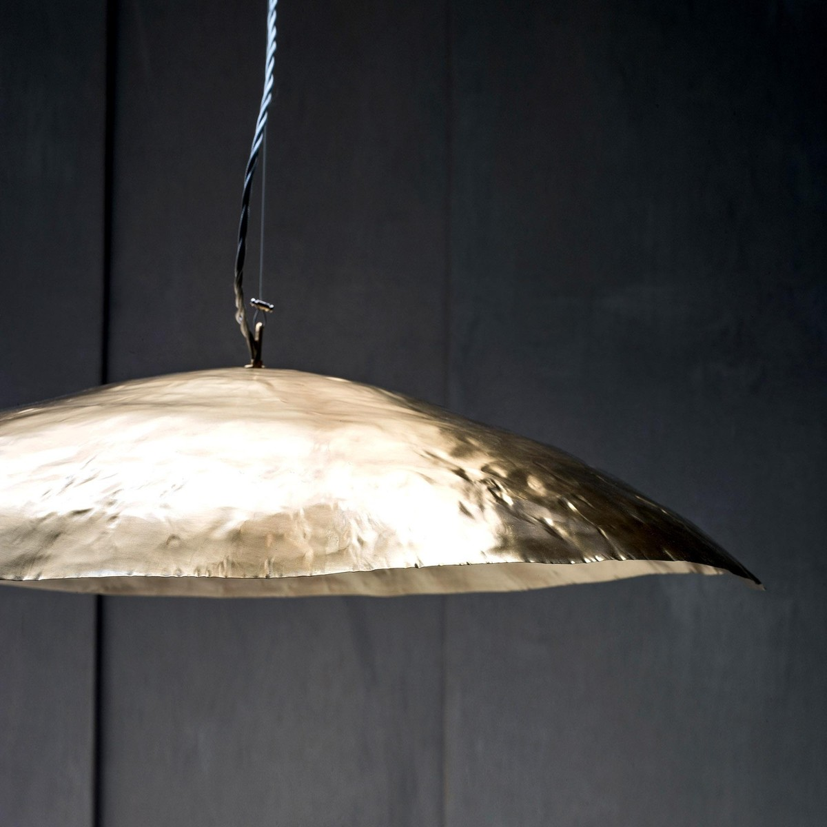 Brass 95 suspension lamp gervasoni for Suspension 4 lampes