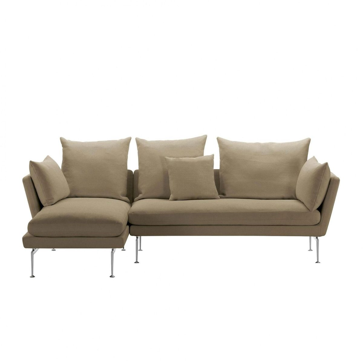 Suita citterio sofa with chaise longue vitra for Sofa chaise longue