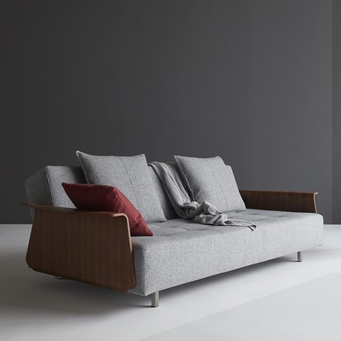 Innovation - Long Horn Excess Klappsofa mit Armlehnen