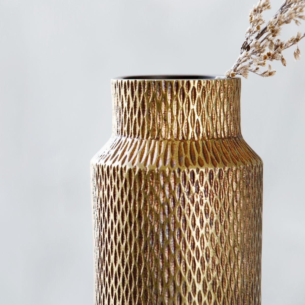 House Doctor Cast Aluminium Vase Ambientedirect