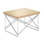 Vitra - Occasional Table LTR Beistelltisch - blattgold/Eichenkante//Gestell chrom