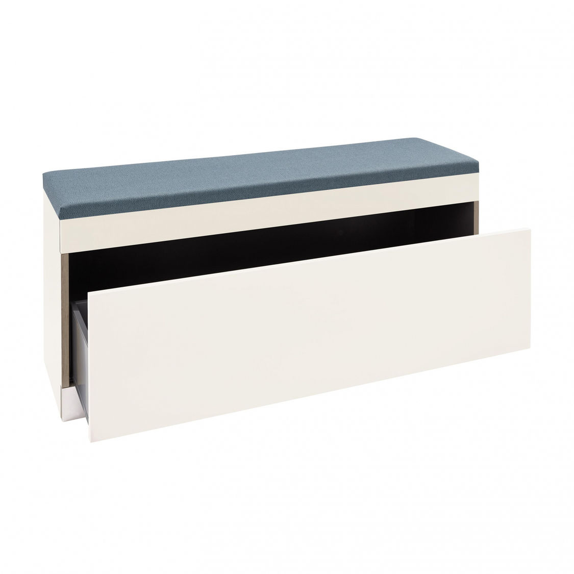 flai banc de stockage avec tiroir m ller m belwerkst tten. Black Bedroom Furniture Sets. Home Design Ideas