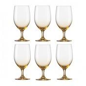 Schott Zwiesel - Vina Touch Wasserglas 6er Set - bernstein/Tritan® Kristallglas/453ml/H: 17.2cm