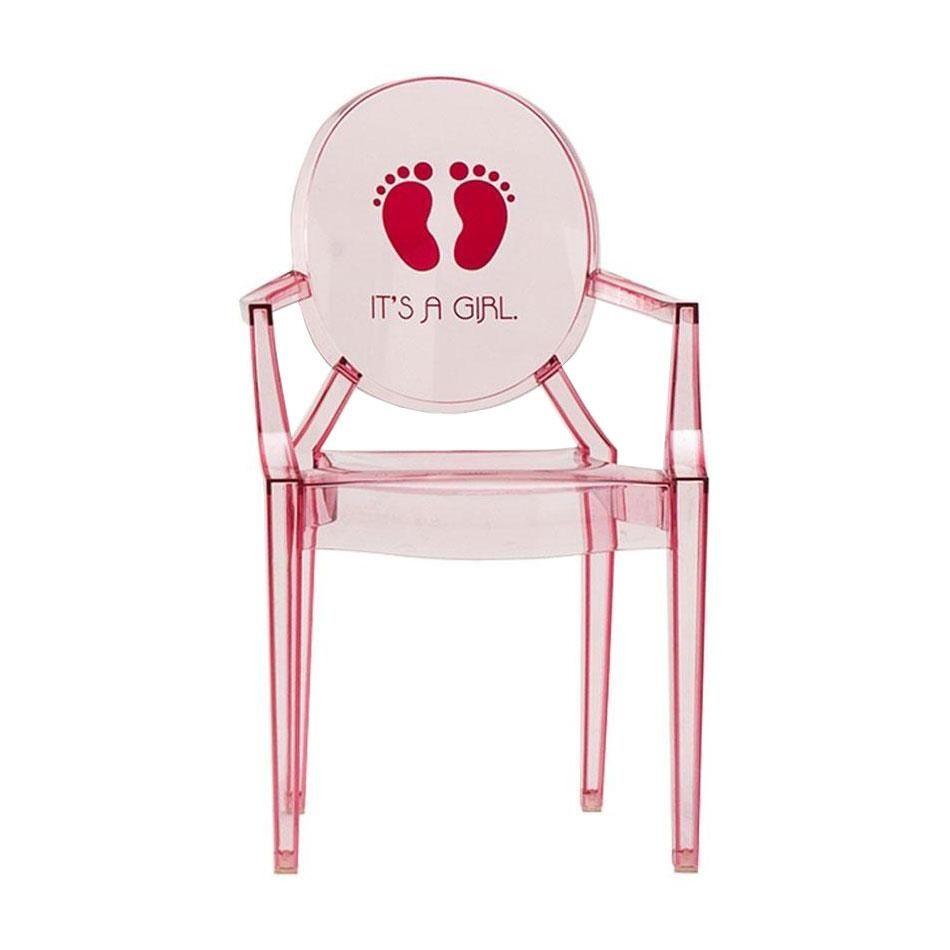 lou lou ghost chaise d 39 enfant avec motif kartell. Black Bedroom Furniture Sets. Home Design Ideas