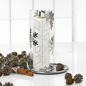 Stelton - Twenty-Four Kerzenhalter - transparent/ohne Kerze/ohne Dekoration