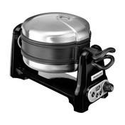 KitchenAid - KitchenAid Artisan 5KWB110 Waffeleisen - onyx schwarz/1400W, 230-240V/neue Beschichtung