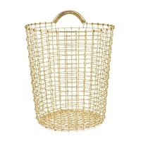 Korbo - Bin Brass Wire (Wall) Basket