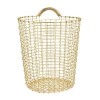 Korbo - Bin 18 Brass Wire (Wall) Basket