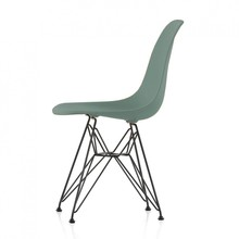 Vitra - Eames Plastic Side Chair DSR basic dark H43cm