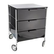 Kartell - Mobil 3 kabinet met wielen