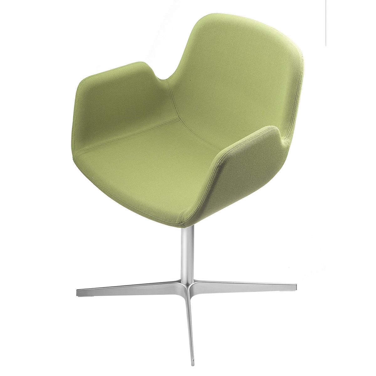 Drehsessel stoff  Pass S131 Swivel Chair With Armrest | la palma | AmbienteDirect.com