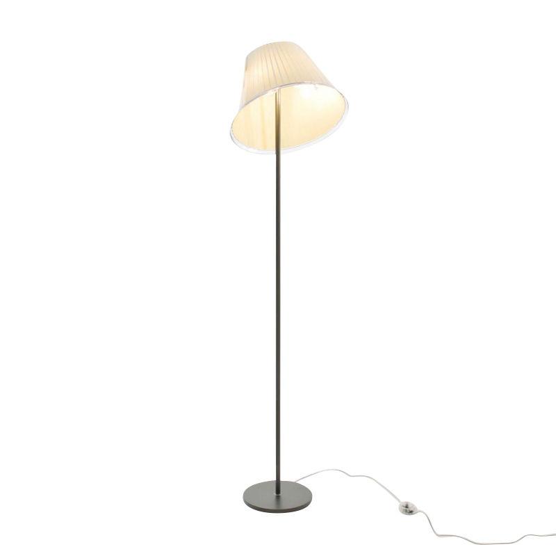 stehlampe papier grau. Black Bedroom Furniture Sets. Home Design Ideas