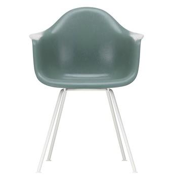 Vitra - Eames Fiberglass Armchair DAX Gestell weiß