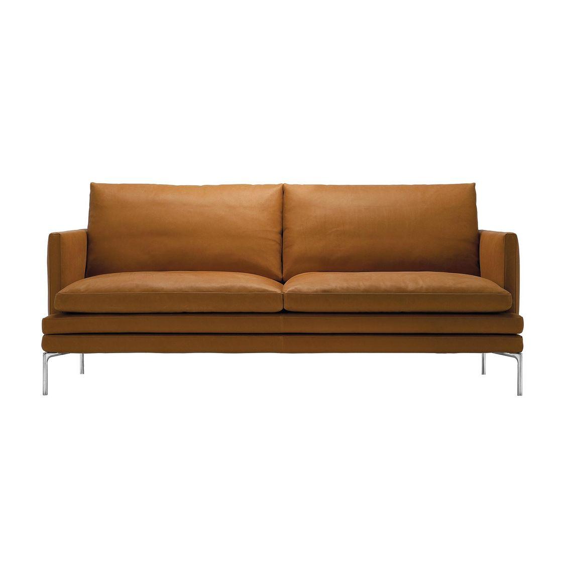 zanotta william canap 2 places avec coussin ambientedirect. Black Bedroom Furniture Sets. Home Design Ideas