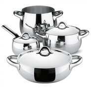 Alessi - Mami Cooking Pot Set Of 7