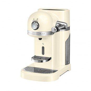 KitchenAid - 5KES0503 Artisan Nespresso Kaffeeautomat - creme/lackiert/1160W/19 bar