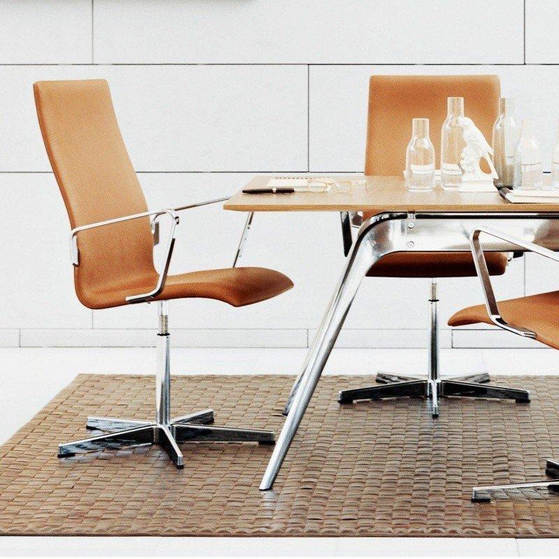 Fritz Hansen - Oxford Armchair/Office Chair ... & Fritz Hansen Oxford Armchair/Office Chair   AmbienteDirect