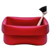 Normann: Marcas - Normann - Washing up - Depósito de limpieza con cepillo