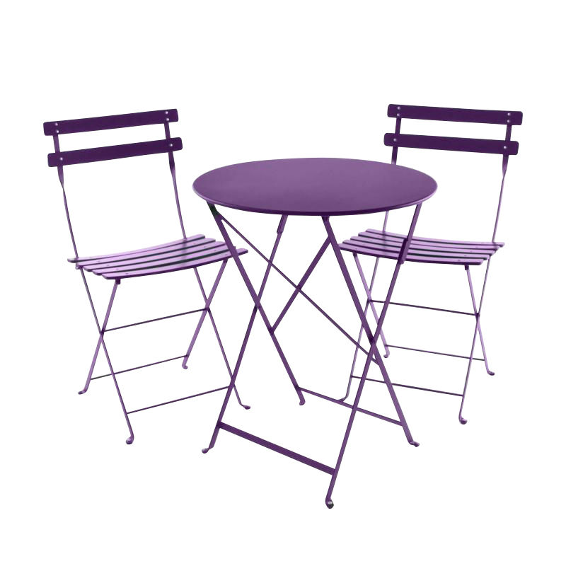 Bistro metal garden set fermob garden tables garden for Table extensible fermob