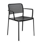 Kartell - Audrey - Chaise avec accoudoirs
