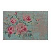 GAN - Canevas Flowers Teppich - diverse/170x240cm