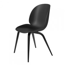 Gubi - Beetle Dining Chair With Black Beech Base