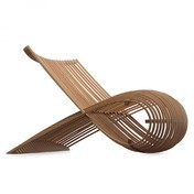 Cappellini - Wooden Chair Holzsessel - buche/82x70x103cm