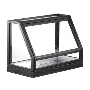 DesignHouseStockholm - Greenhouse Mini Gewächshaus - Esche dunkelgrau/lackiert/Nur für den Innenbereich geeignet!/60x95x40cm