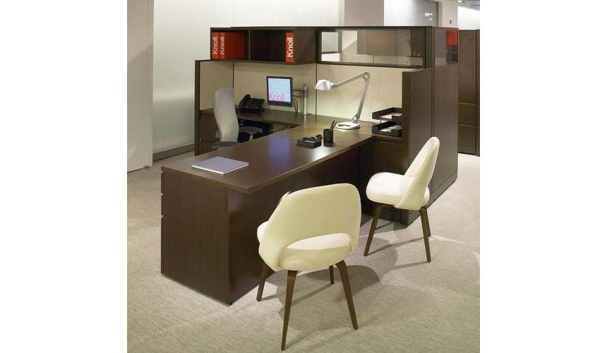 saarinen conference chaise noyer knoll international. Black Bedroom Furniture Sets. Home Design Ideas