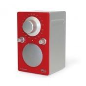 Tivoli - iPAL Colours Radio - rot/latexbeschichtet/Nur noch 1x im Bestand!