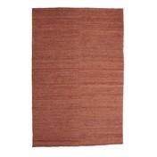 Nanimarquina - Earth Teppich - terrakotta/Jute/200x300cm