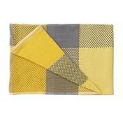 Muuto - Loom throw Baumwolldecke  - gelb/100% Baumwolle/180x130cm/handgewebt