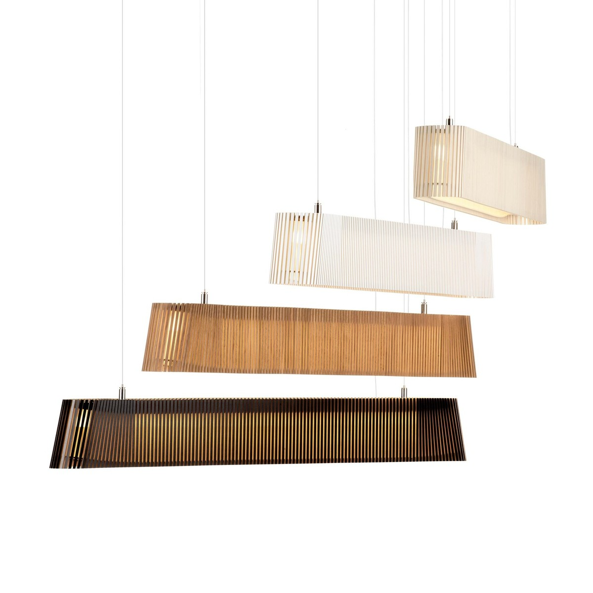 Owalo 7000 led suspension lamp secto design for Suspension design