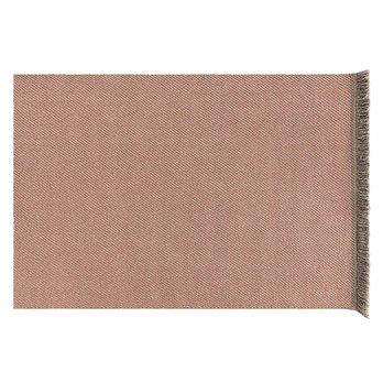 GAN - Garden Layers Diagonal Teppich 200x300cm - mandel-pfirsich/Handwebstuhl