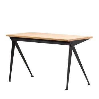 Vitra - Compas Direction Tisch - eiche natur//Gestell tiefschwarz