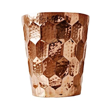 Tom Dixon - Hex Champagnerkühler/Vase - kupfer/Ø 20cm