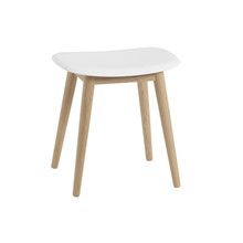 Muuto - Fiber Stool Wood Base 45cm