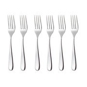 Alessi - Nuovo Milano- Set de 6 fourchettes de table