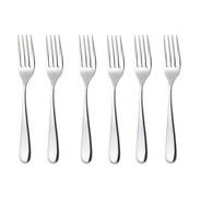 Alessi - Nuovo Milano- Set de 6 fourchettes de table
