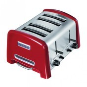 KitchenAid - Artisan 5KTT890 Toaster 4 Scheiben - rot/Metall