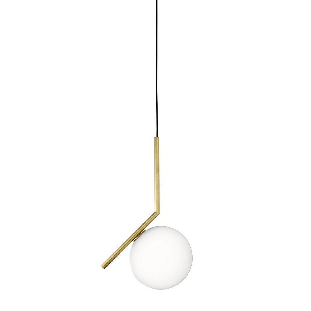 ic s2 suspension lamp flos. Black Bedroom Furniture Sets. Home Design Ideas