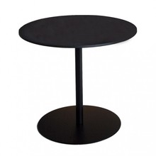 Lapalma - Table de bistrot structure noir Brio Fix H 72cm