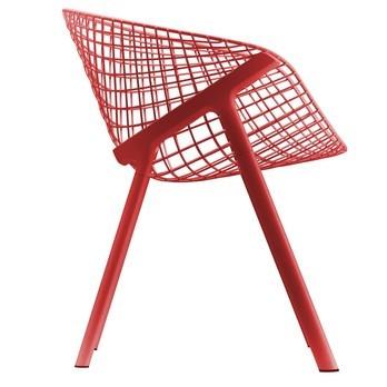Alias - Kobi Chair Armlehnenstuhl - korallenrot