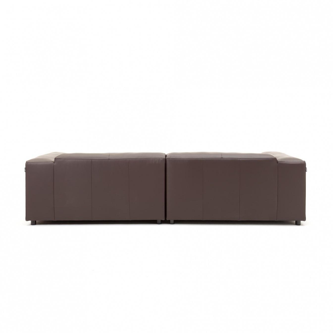 freistil rolf benz freistil 187 3 seater leather sofa ambientedirect. Black Bedroom Furniture Sets. Home Design Ideas