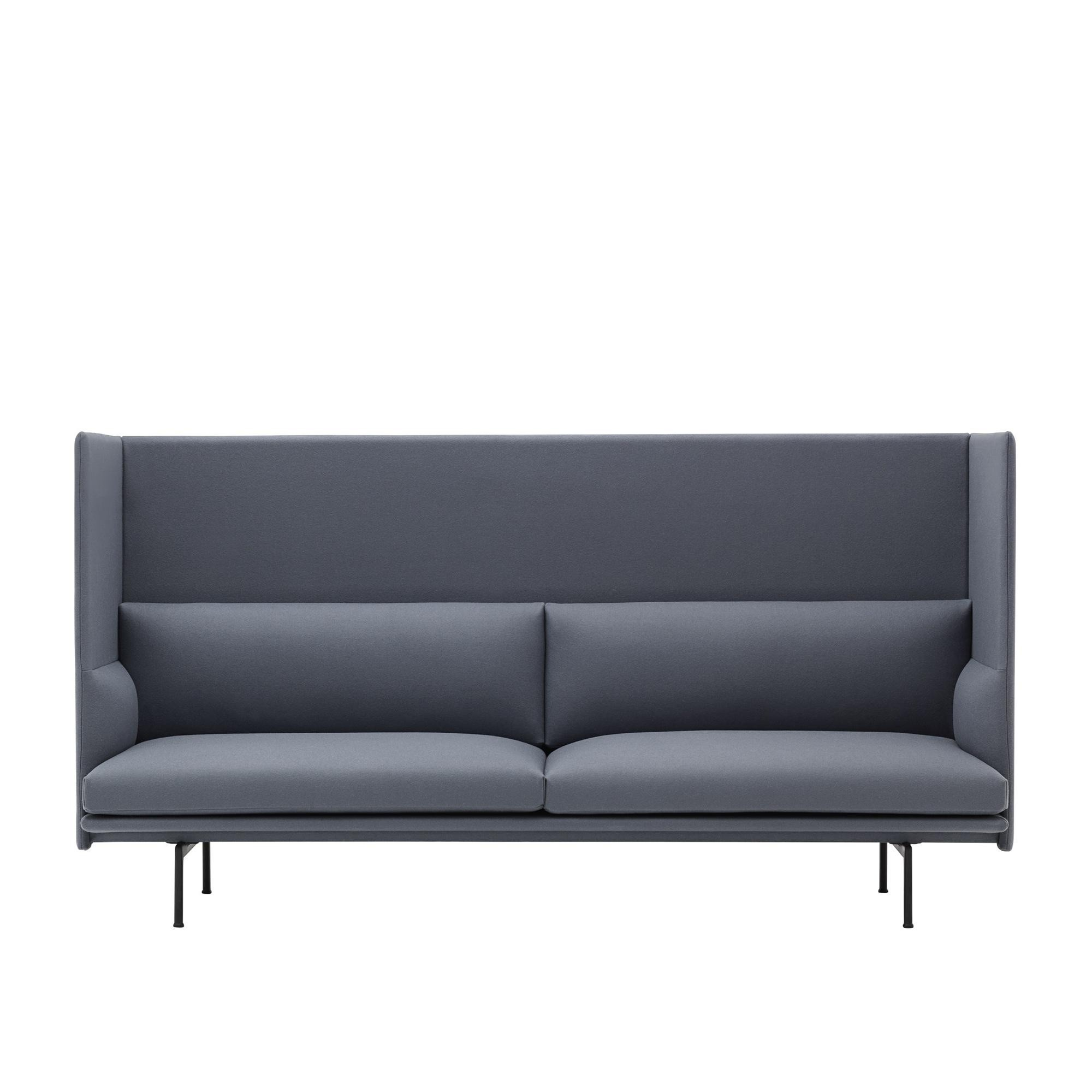 Outdoor Patio Couch Set, Muuto Outline Highback Sofa 3 Seater Ambientedirect