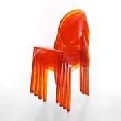 Kartell: Hersteller - Kartell - Victoria Ghost Stuhl 4er Set