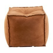 House Doctor - Suede Pouf